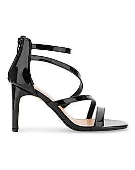 Steph Strappy Sandals Wide Fit