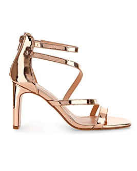 Steph Strappy Sandals Extra Wide Fit