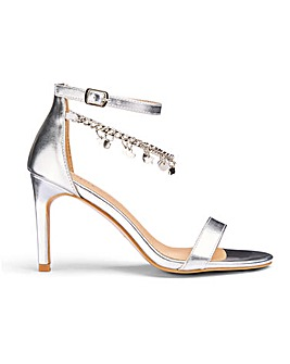 Carrie Trinket Sandals Wide Fit