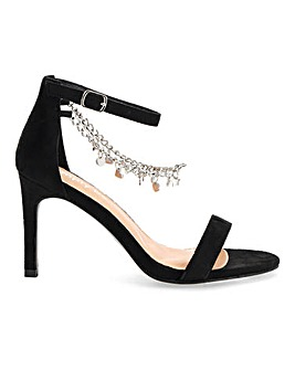 Carrie Trinket Sandals Extra Wide Fit