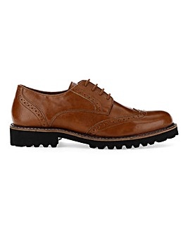 Abitha Chunky Sole Brogue Wide E Fit