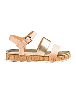 Head Over Heels by Dune Latin Sandals