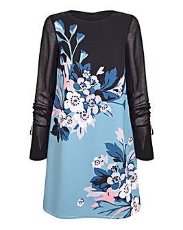 Yumi Curves Cherry Blossom Tunic Dress