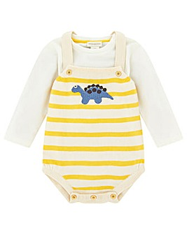 Monsoon New Born Duke Dino Romper