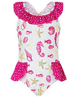 Monsoon S.E.W Baby Bondi Shell Swimsuit
