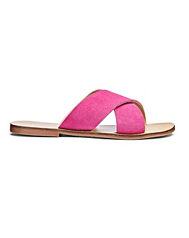 Mollie Leather Sandals Extra Wide EEE Fit
