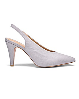 Jodie Slingback Point Heels Wide Fit