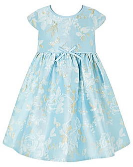 Monsoon Baby Aries Jacquard Dress