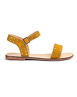 Miranda Stud Sandals Wide Fit