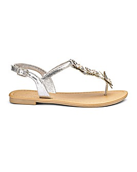 Cheryl Butterfly Sandals Extra Wide EEE Fit