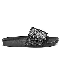 Harper Basic Sliders Wide Fit
