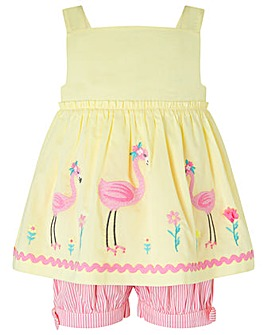 Monsoon S.E.W. Baby Fifi Flamingo Set