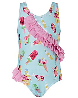 Monsoon S.E.W Baby Erica Ruffle Swimsuit