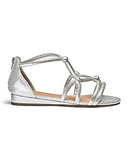 Angela Rope Sandal Wide E Fit