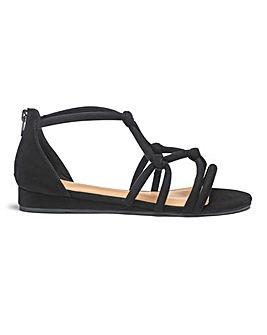 Angela Rope Sandal Wide Fit