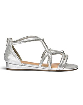 Angela Rope Sandal Extra Wide EEE Fit