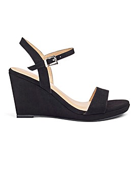 Robyn Strappy Wedge Wide Fit