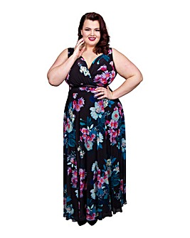 Scarlett & Jo Floral Nancy Marilyn Dress