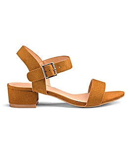 837a71e094f80c Frances Block Sandals Extra Wide Fit