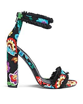 Glamorous Ruffle Heel Standard Fit