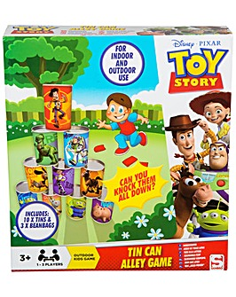 Toy Story Tin Can Alley Game