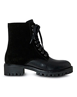 Joe Browns Leather Ankle Boots E Fit