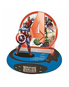 Lexibook Avengers Projector Radio Clock