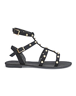 Haley Gladiator Sandals Wide Fit