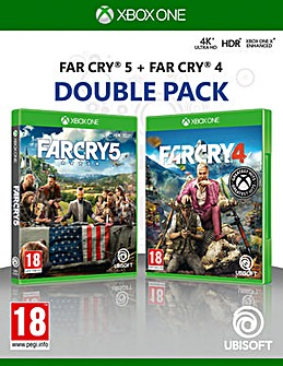 Far Cry 4 and 5 Double Pack Xbox One