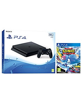 PS4 500GB Console and Team Sonic Racing