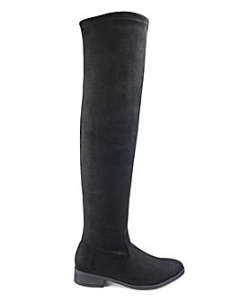 Sienna Boots Super Curvy Calf Wide E Fit