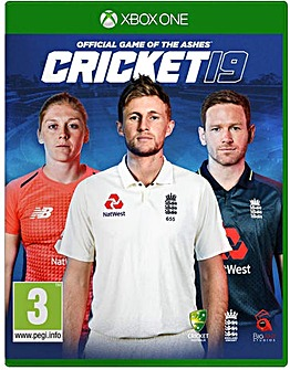Cricket 19 The Official Game Xbox One