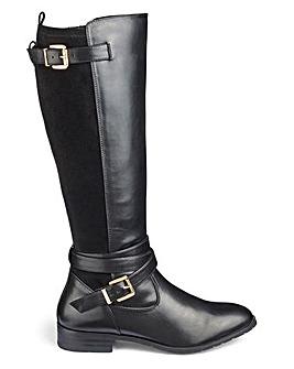 Celeste Buckle Boots Wide Fit S Calf