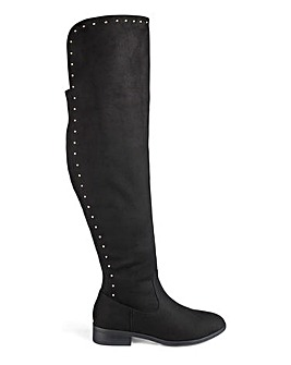 016d03dc3d5 Women s Wide Fitting Over The Knee Boots