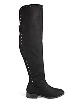 Kimora Boots Standard Calf Wide Fit