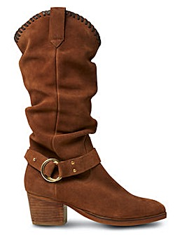 Joe Browns Slouch Western Boots E Fit