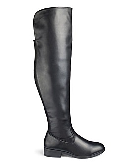 Ivy Over The Knee Boots Standard Wide