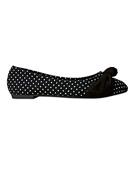 Joe Browns Ballerinas Extra Wide EEE Fit