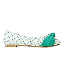 Joe Browns Ballerinas Wide E Fit