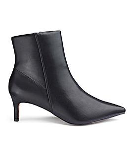 Elouise Kitten Heel Boots Wide Fit