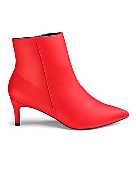Elouise Kitten Heel Boots Extra Wide Fit