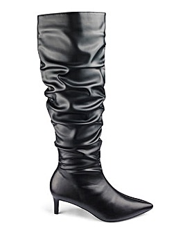 83b34c8dc9287 Wide Fitting Knee-High Boots - Sizes 3 - 9 | Fashion World