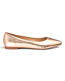 Alicia Pointed Ballerina Extra Wide Fit