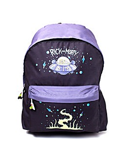 Rick & Morty Spaceship Backpack