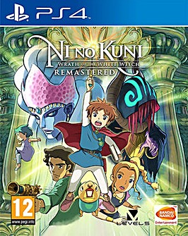 Ni No Kuni Wrath of the White Witch PS4