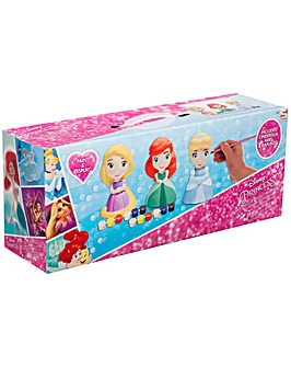 Princess 3 Pack Paint Your Own Figure