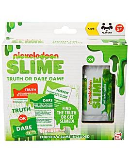 Nickelodeon Slime Dare Game