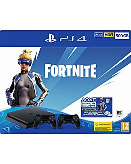 PS4 500GB Fortnite Neo Versa Bundle