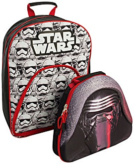 Star Wars Backpack with Lunchbag