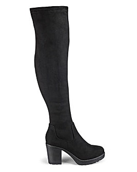 Laurel Stretch Boots Super Curvy Ex Wide